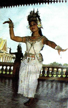 An Apsara Dancer from the 20th century