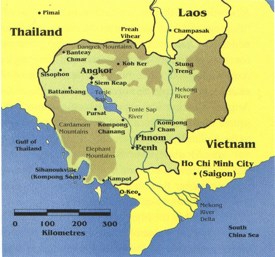 Click on map to see the location of Cambodia, 931 bytes